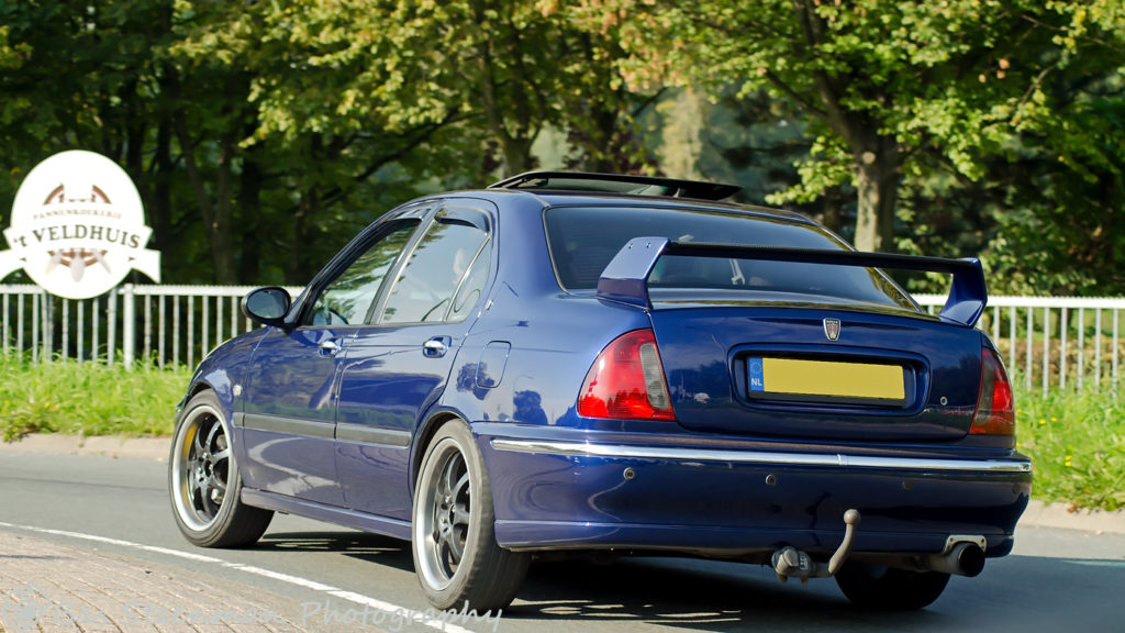 Rover 45   MG-R tourtocht