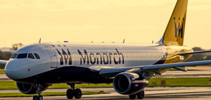 Monarch | A320 | G-ZBAT | EGCC/MAN